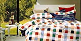 Tima Cotton Double Bedsheet With 2 Pillow Covers- King Size