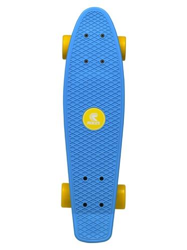 Roces - MINICRUISER 1, mini-skateboard, azzurro/giallo
