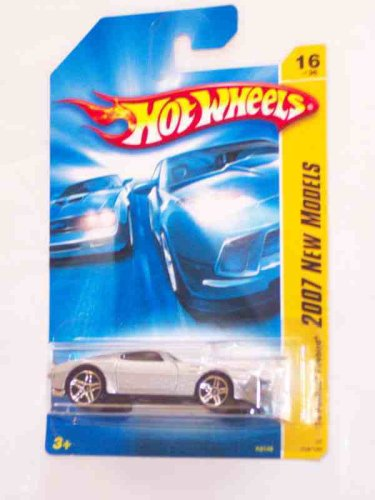 2007 New Models -#16 '70 Pontiac Firebird SilverLight Blue Roof Tampo K-Mart Exclusive #2007-16 Collectible Collector Car Mattel Hot Wheels