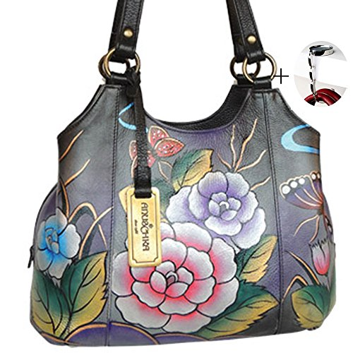anuschka-leather-medium-satchel-hand-painted-design-on-real-leather-top-quality-handbag-free-purse-h