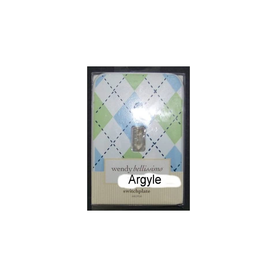 Wendy Bellissimo Argyle Switchplate