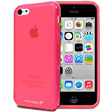Fosmon DURA-FRO Ultra SLIM-Fit Case Flexible TPU Cover for New Apple iPhone 5C (2013) - Pink
