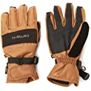 Carhartt Men's W.B. Waterproof Windproof Insulated Work Glove, Brown/Black, Medium