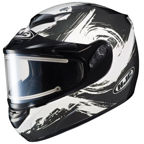 2014 Hjc Cs R2 Contrast Electric Snowmobile Helmet - 2X-Large