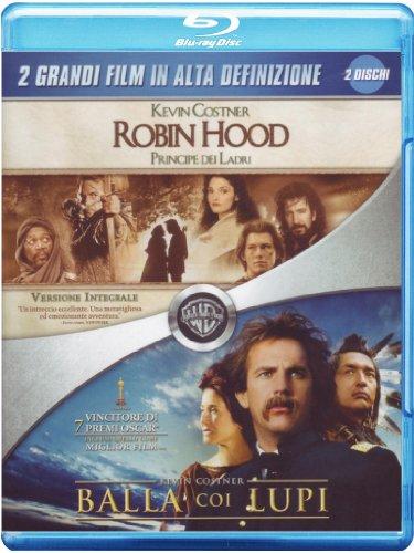 Balla coi lupi + Robin Hood - Principe dei ladri [Blu-ray] [IT Import]