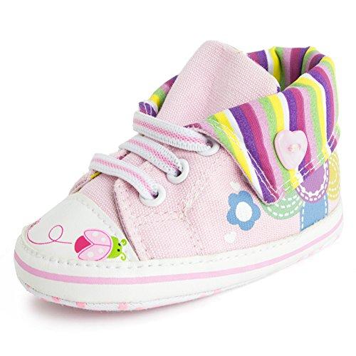 Ladybug Baby Shoes front-649660