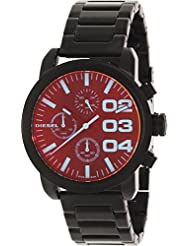 Flare Chrono In Black Diesel Dz5466 Flare Chrono In Black