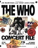 img - for The Who Concert File (Talking) book / textbook / text book