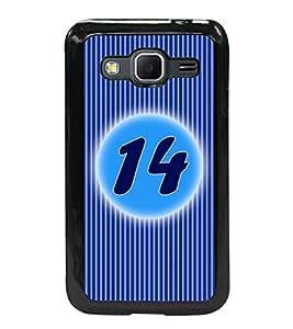 Printvisa 2D Printed Numerology Designer back case cover for Samsung Galaxy Core Prime G360H- D4232
