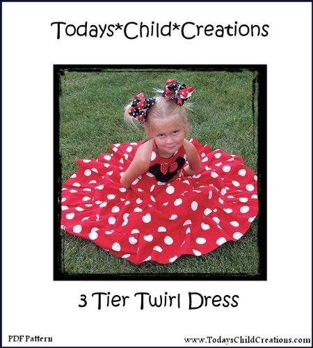 Boutique Twril Dress (Unique Boutique Sewing)