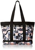 LeSportsac Medium Travel Tote Bag, Cubist, One Size