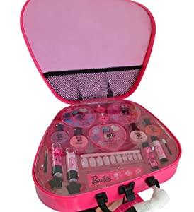 barbie jetting beauty make up case amazoncouk toys amp games