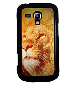 PRINTSWAG LION Designer Back Cover Case for SAMSUNG GALAXY S DUOS 2 S7582