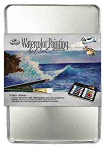 Royal and Langnickel Watercolour Paint Tin Art Set