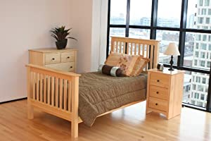 Maco Furniture 2 Piece Pine Kid's Bedroom Set
