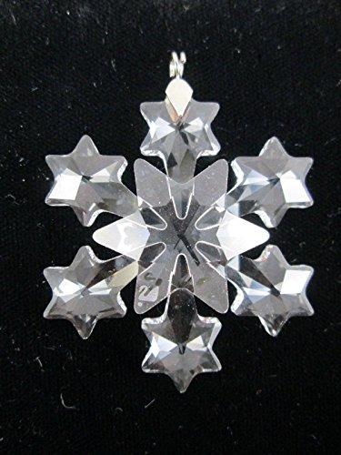 Swarovski Fiocco di neve piccolo decorazione natalizia natale 663147
