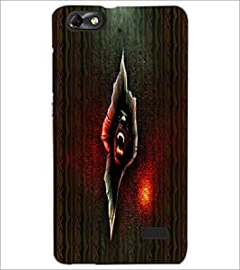 PrintDhaba Scary Image D-4006 Back Case Cover for HUAWEI HONOR 4C (Multi-Coloured)