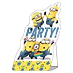 8 Invitations de f�te Les Minions env...