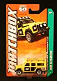 LAND ROVER DEFENDER 110 (YELLOW) * MBX EXPLORERS * 60th Anniversary Matchbox 2013 Basic Die-Cast Vehicle (#59 of 120)