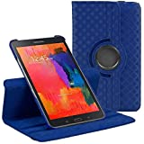 Stuff4 Diamond Designed Case with 360 Degree Rotating Swivel Action and Screen Protector/Stylus Touch Pen for 8.4 inch Samsung Galaxy Tab Pro T320/T321/T325 - Blue