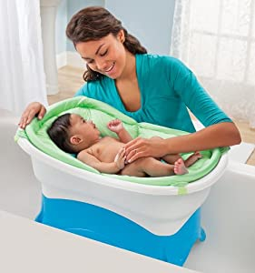 summer infant rite height bath tub baby. Black Bedroom Furniture Sets. Home Design Ideas
