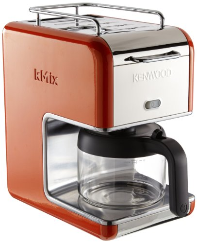 Kenwood-kMix-CM-027-Machin--caf-6-tasses-Orange-Import-Allemagne