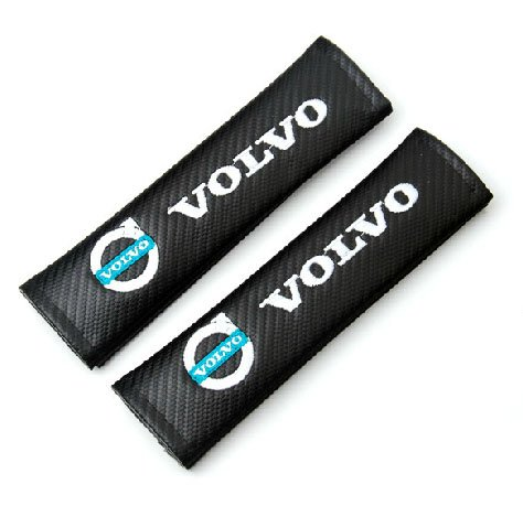 2pcs VOLVO Carbon Fiber Car Styling Accessories