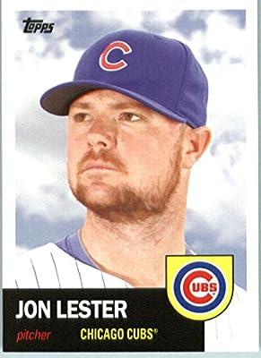 2016 Topps Archives #75 Jon Lester Chicago Cubs Baseball Card-MINT