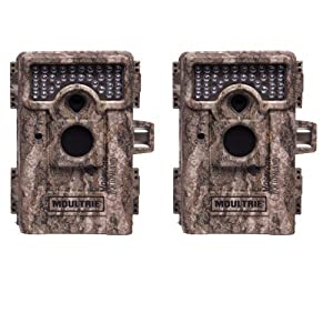 (2) MOULTRIE Game Spy M-880 Low Glow Infrared Digital Trail Game Cameras | 8 MP by Moultrie