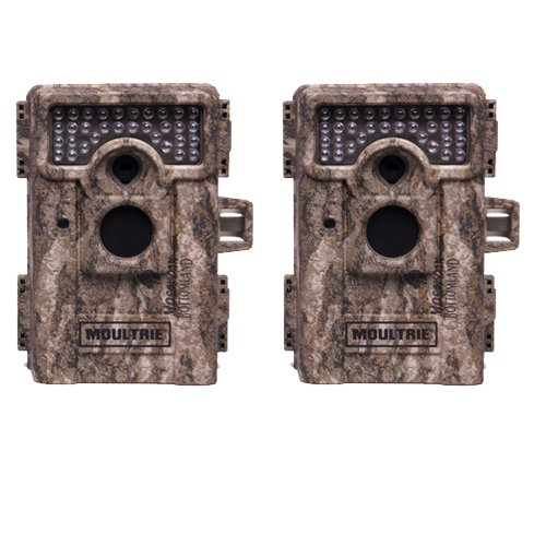 Find Bargain (2) MOULTRIE Game Spy M-880 Low Glow Infrared Digital Trail Game Cameras | 8 MP
