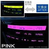 フォレスター SG5 # エアコン led パネル球 打ち変え エアコンパネル 交換 ホワイト ブルー ピンク