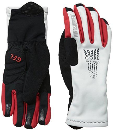 Gore Bike Wear Men's Xenon Soft Shell Windstopper Thermo Glove (White/Black, Medium)