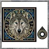 Ouija Board ~ Spirit Board ~ Mystical ~ Wolf Design