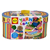 Alex Yarn Craft Kit in Carry Basket