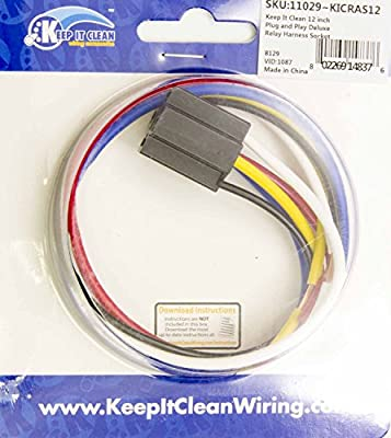 Keep It Clean RAS12 Single Relay Socket