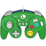 HORI Battle Pad for Wii U (Luigi Version) with Turbo - Nintendo Wii U