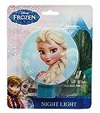 Blue Disney Frozen Elsa Plug In Night Light with Switch