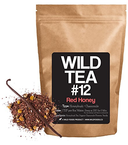 Organic Chamomile and Honeybush Tea with Vanilla Bean, Wild Tea #12