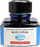 J.Herbin 13012T Ink for Fountain Pen 30 ml Azure Blue