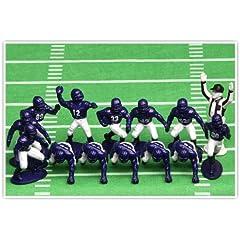 Buy Kaskey Kids Football Guys Purple and White Mini Pack Figure Set by Kaskey Kids