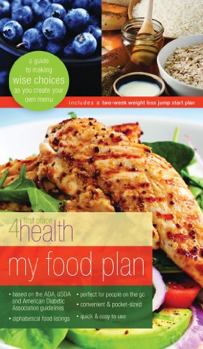 My Food Plan: A Guide to Making Wise Choices as you Create Your Own Menu (First Place 4 Health)