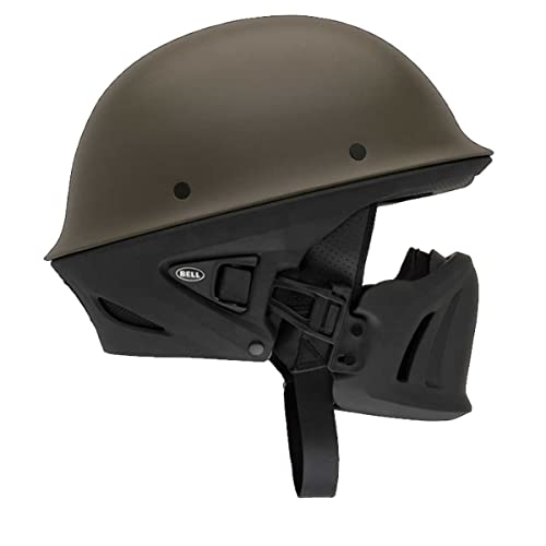Bell Solid Rogue Cruiser Motorcycle Helmet - Gun Metal / Small