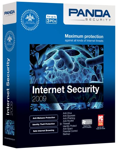 Panda Internet Security 2009 - 3 User [Old Version]