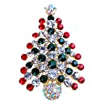 Multi-Colored Crystal Christmas Tree...