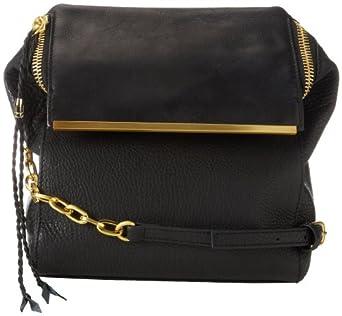 Kelsi Dagger Park Slope Long KDHB1246 Shoulder Bag,Black,One Size