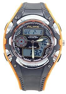 Aivtalk Boys Girls Wristwatches 50M Water Resistant Digital Sport Watch With Alarm Stopwatch Chronograph - Orange