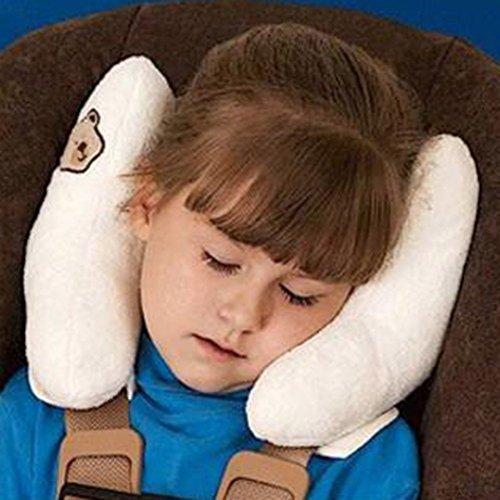 Highdas Bambino protettivo sede del rilievo / ammortizzatore / corpo testa pad protettivo duplex (bianco)