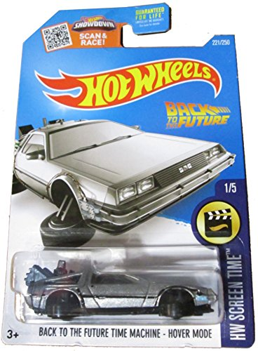 2016 Hot Wheels Screen Time Hover Mode Back To the Future Time Machine Delorean (Back To The Future Hot Wheels compare prices)