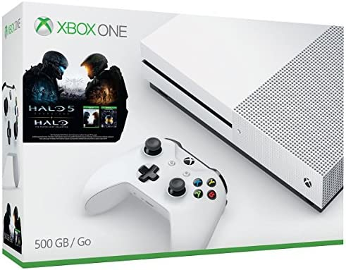 Microsoft Xbox One S 500GB Console - Halo Collection Bundle