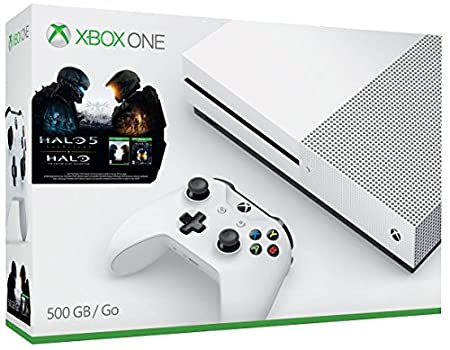 Xbox One S 500GB Console - Halo Collection Bundle